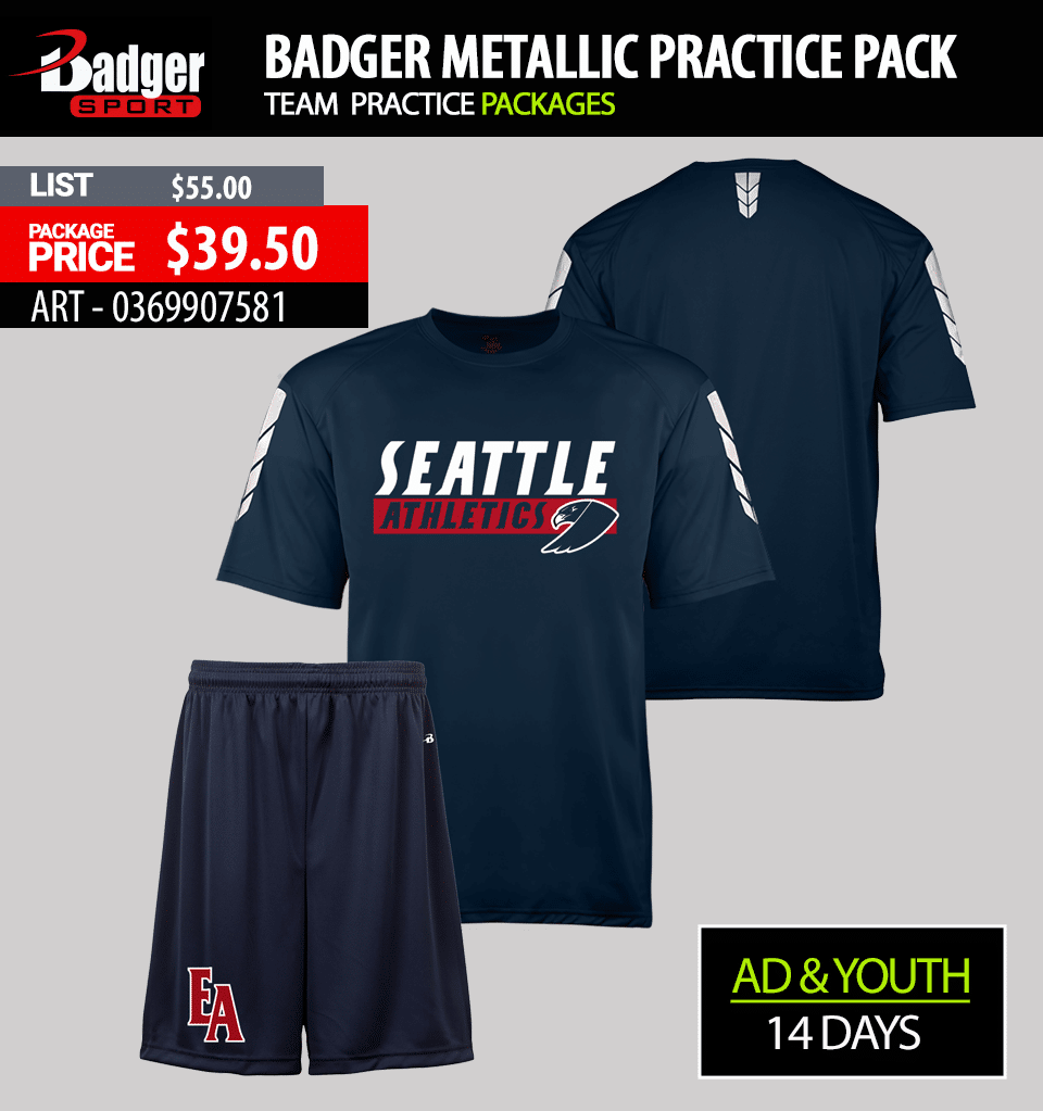 Badger Camo Practice Package
