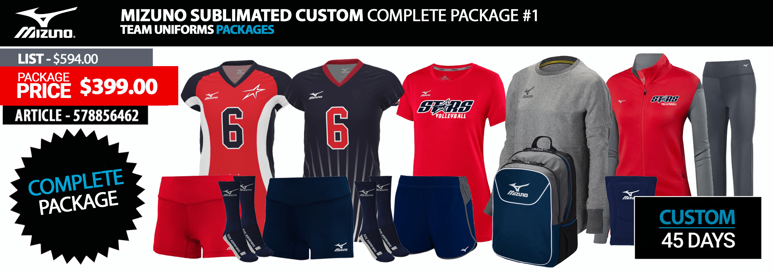 uk availability 955b6 3905f Volleyball Uniforms | ProPlayerTeam.com