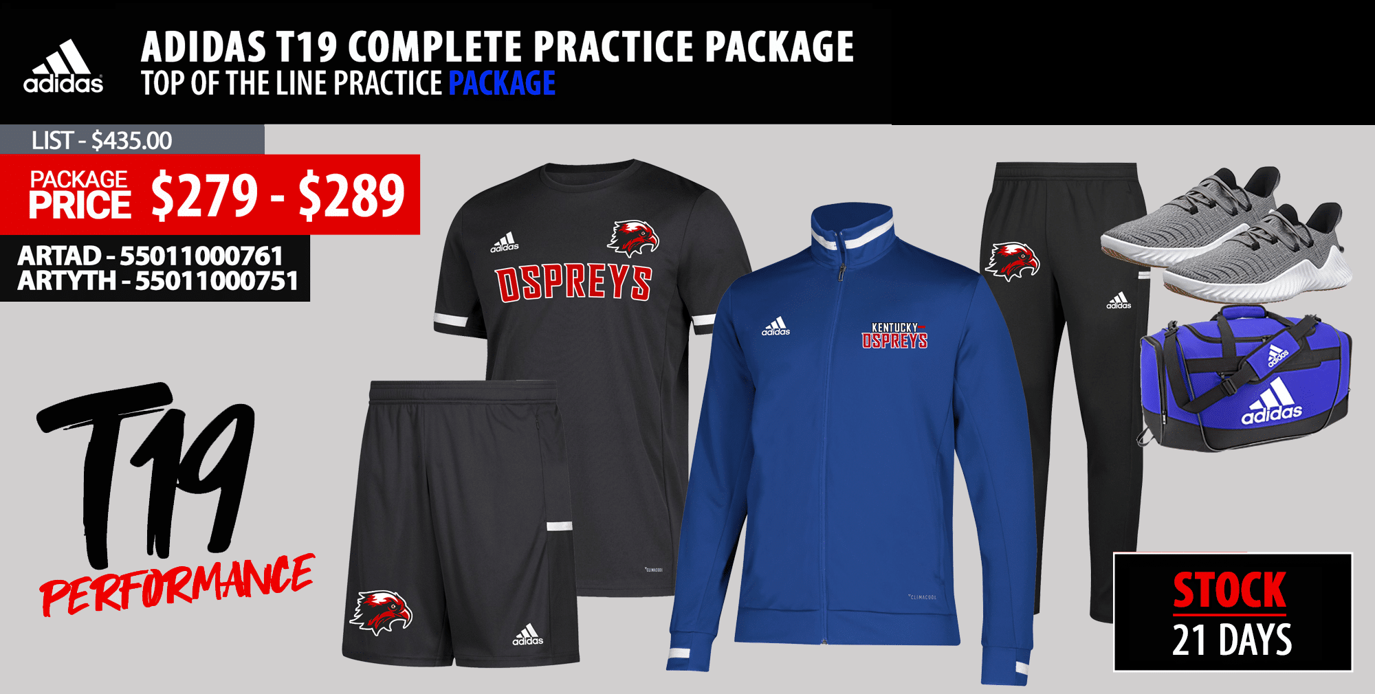 Badger B-Core Practice Package