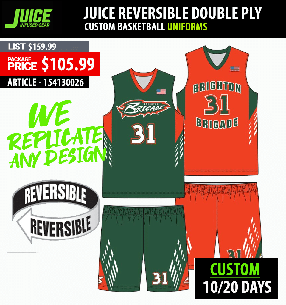 Adidas Custom Game Changer Basketball Uniform Package - Mens