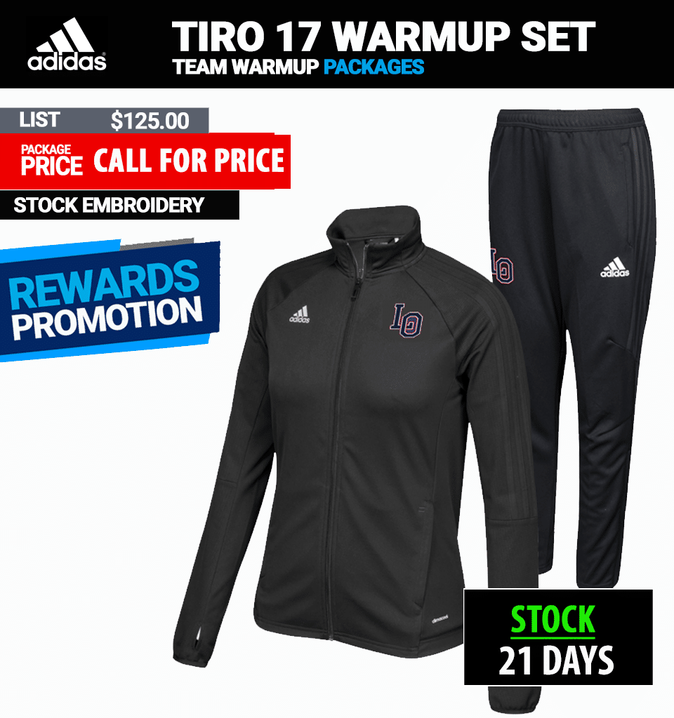 Adidas Stock Utility Warmup Package Womens