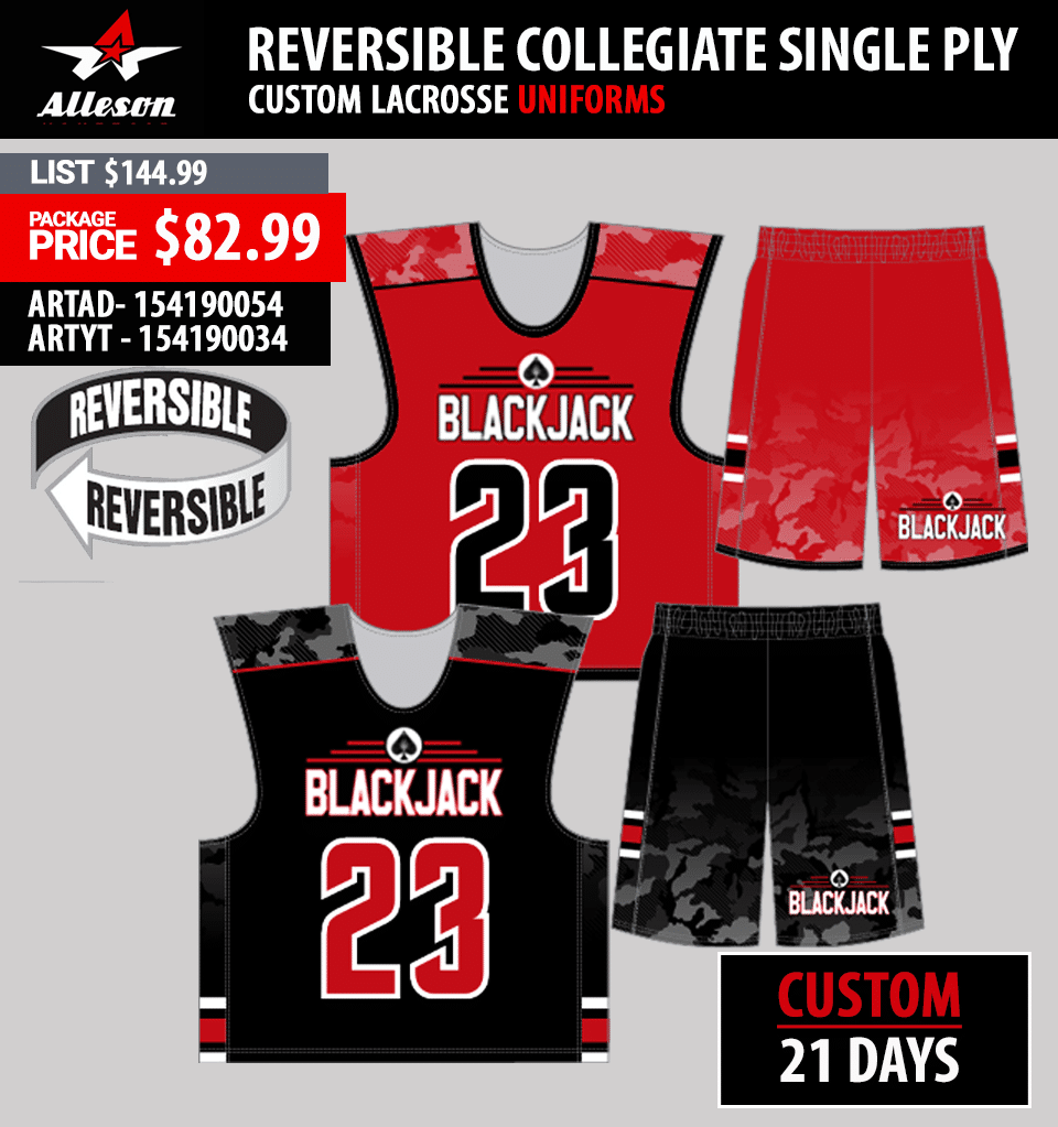 New Balance Stock Reversible Lacrosse Uniform