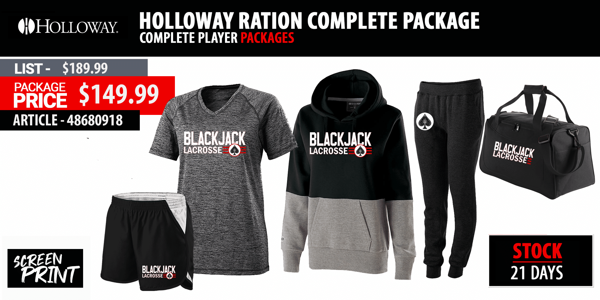 Holloway Electrify Practice Package - Womens