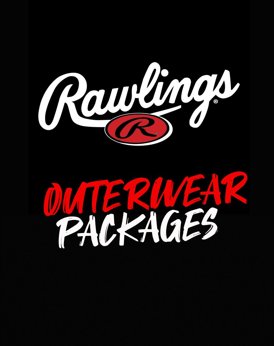 Rawlings Cage SS Baseball Batting Jacket