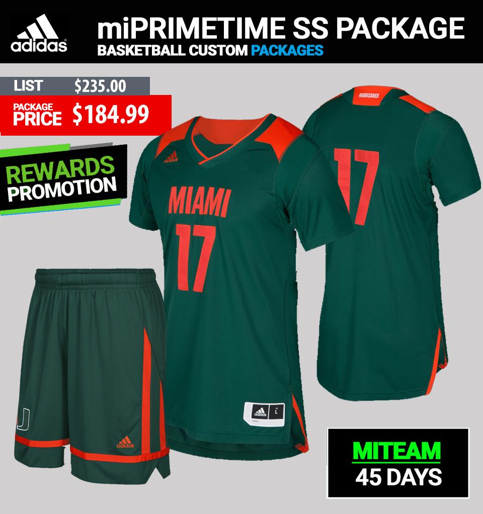 Adidas Racers Custom Uniform Package-Basketball Mens