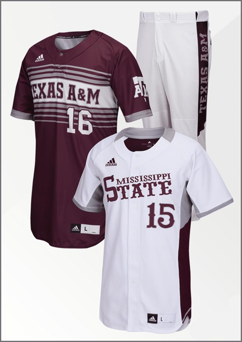 Adidas Men's Baseball Uniform Packages