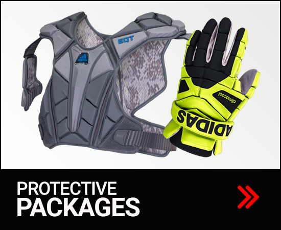 Adidas Men's Lacrosse Protective Packages