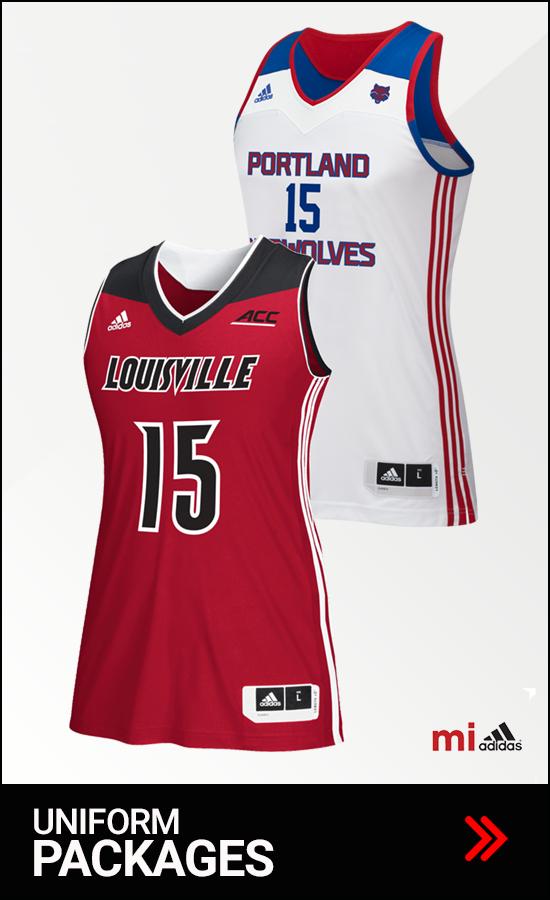 Adidas Women's Basketball Uniform Packages