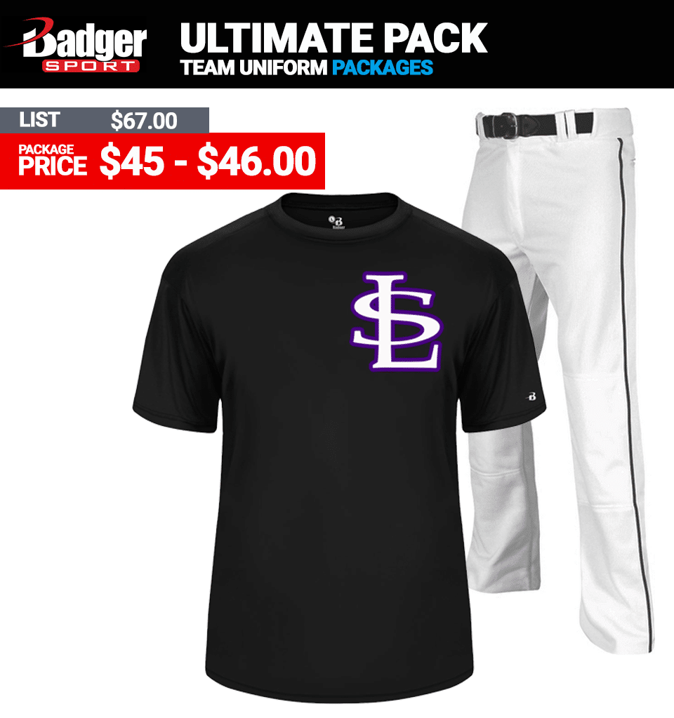Badger Ultimate Baseball Uniform Package