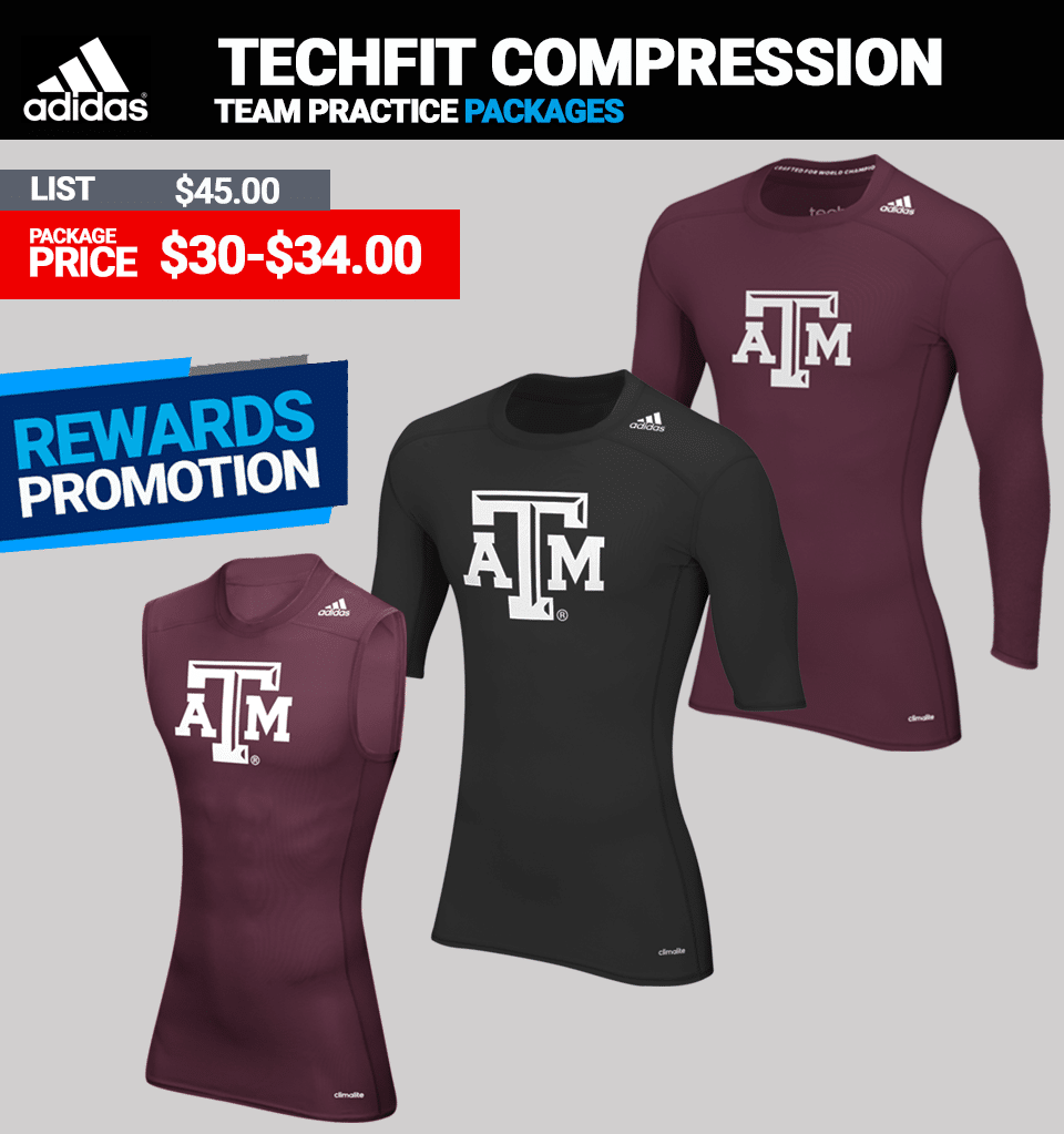 Adidas Techfit Compression - Long Sleeve