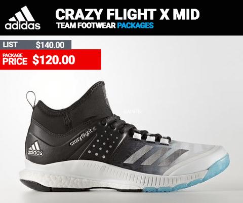 Adidas Crazy Flight X MID Volleyball Shoe