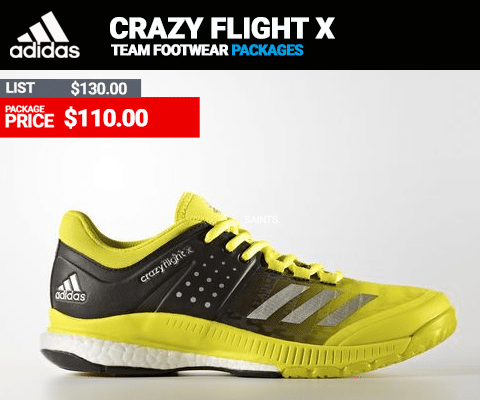Adidas Crazy Flight X Volleyball Shoes
