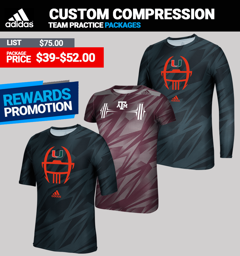 Adidas Techfit Custom Compression - Long Sleeve