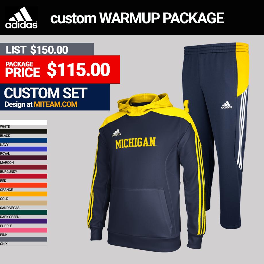 Adidas miTEAM Men's Track Warmup Package
