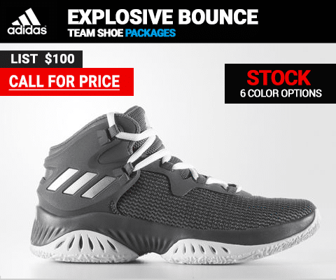 Adidas Explosive Bounce NCAA Basketball Shoe