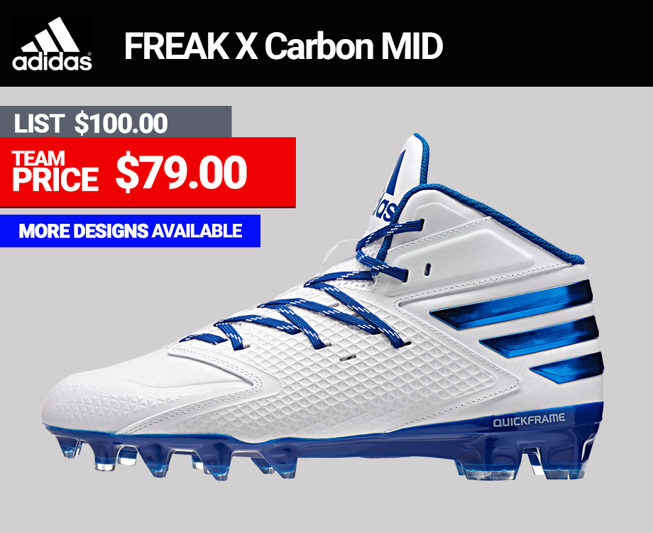 Adidas Freak X Carbon Mid Lax Cleats