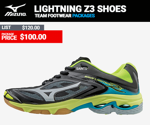 Mizuno Wave Lightning Z3 Womens Volleyball Shoes