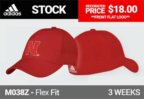 Adidas M517Z Custom Flex Fit Game Cap