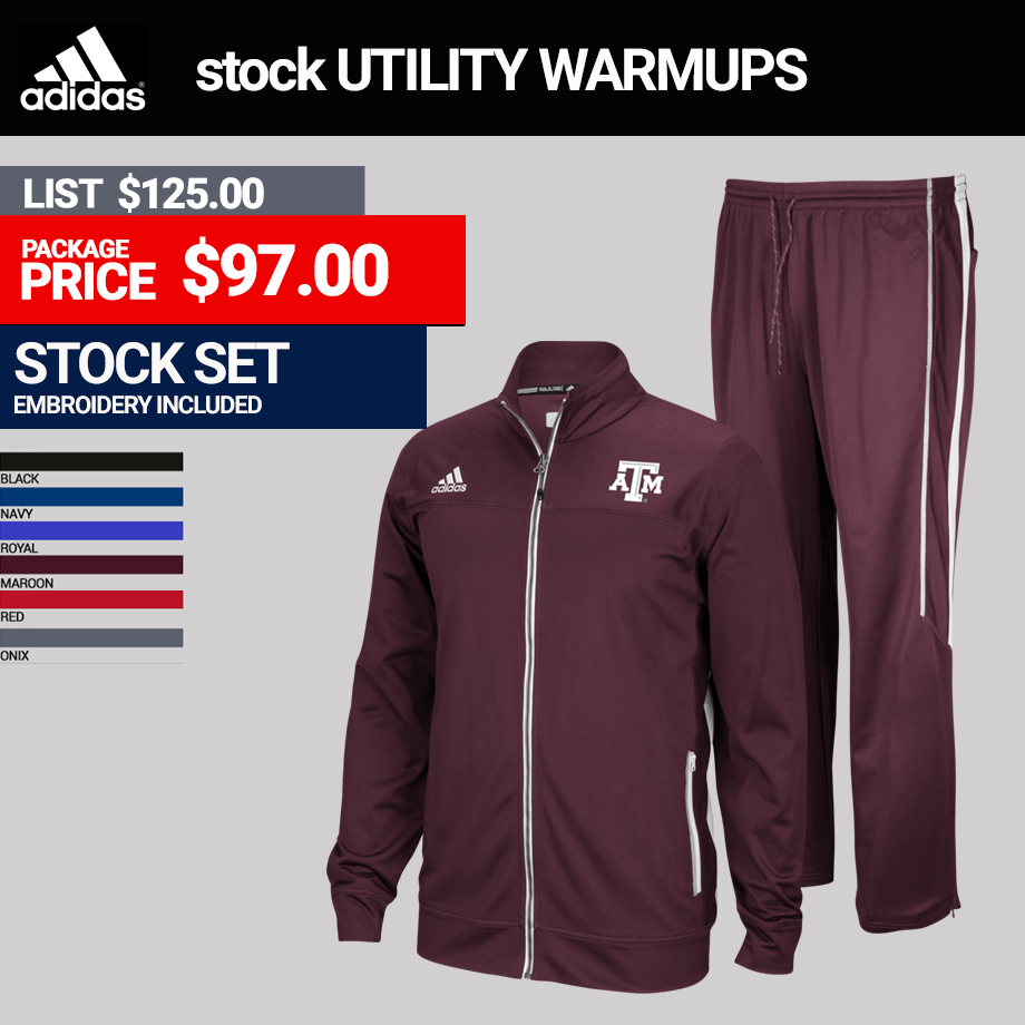 Adidas Mens Utility Warmup Package