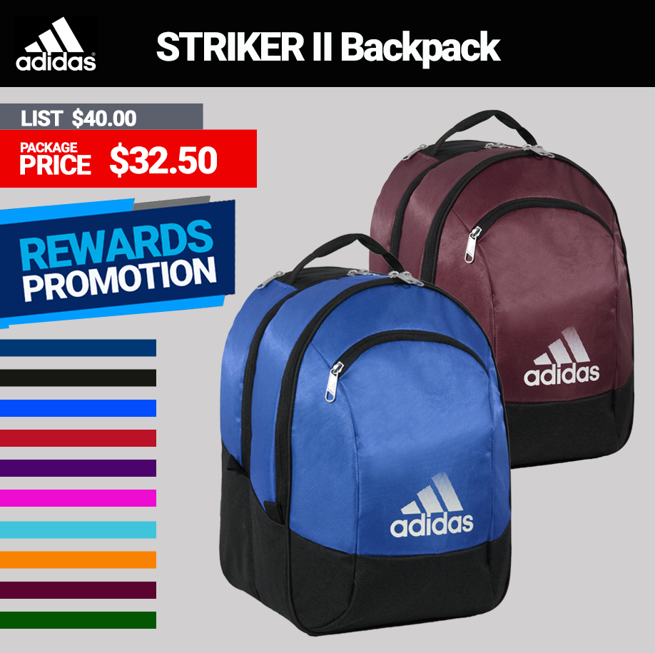 Adidas Striker II Team Soccer Backpack