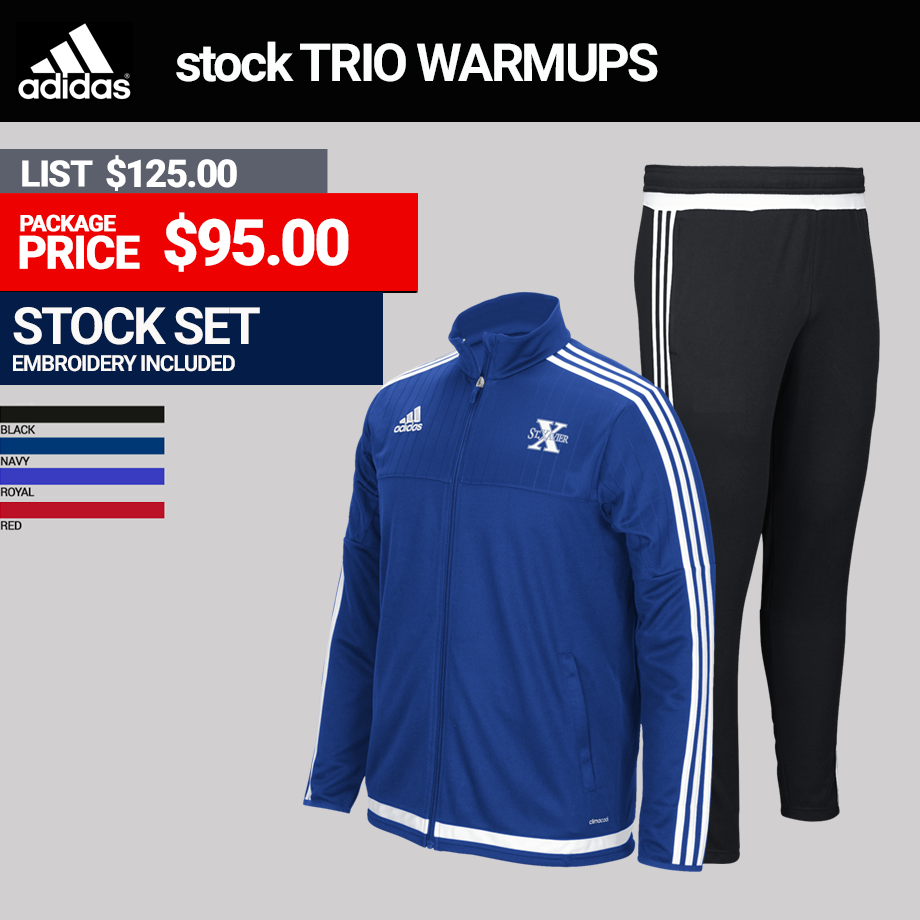 Adidas Trio Mens Warmup Package