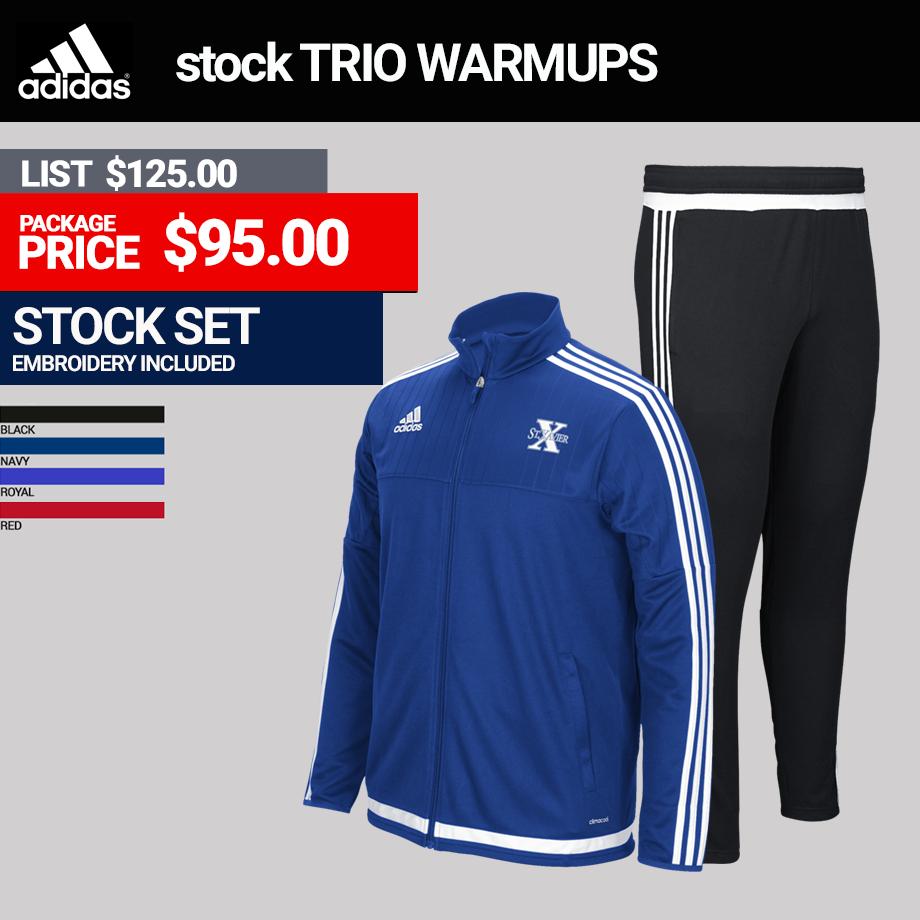 Adidas Trio Mens Warmup Package