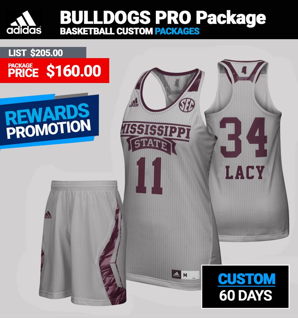 Adidas Women's Custom PRO Basketball Package
