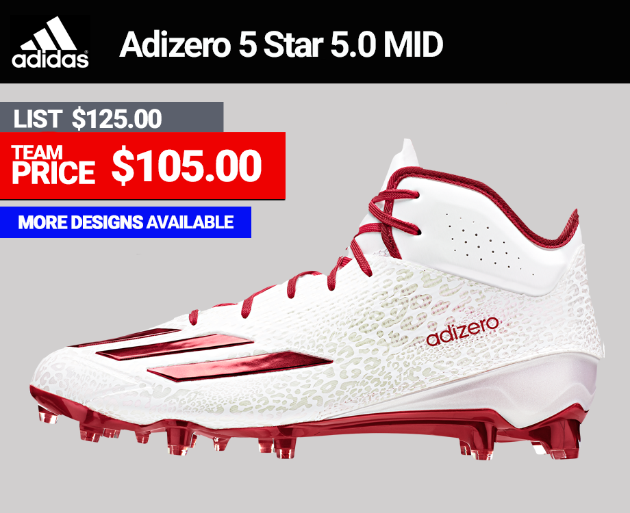 Adidas Adizero 5.0 5 Star Mid Football Cleats
