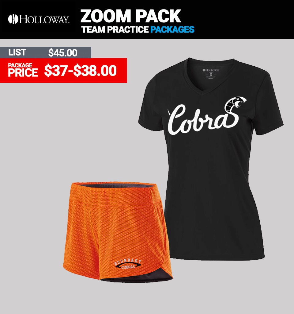 Holloway Zoom Practice Package - Womens