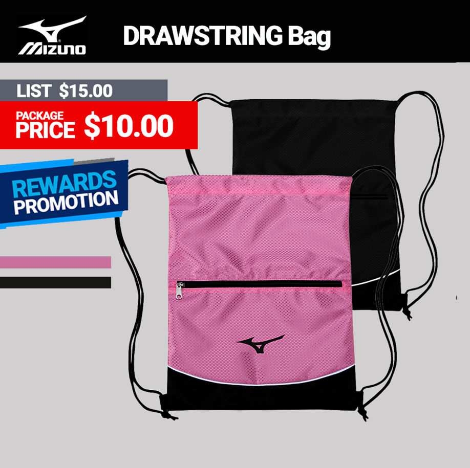 Mizuno Drawstring Bag