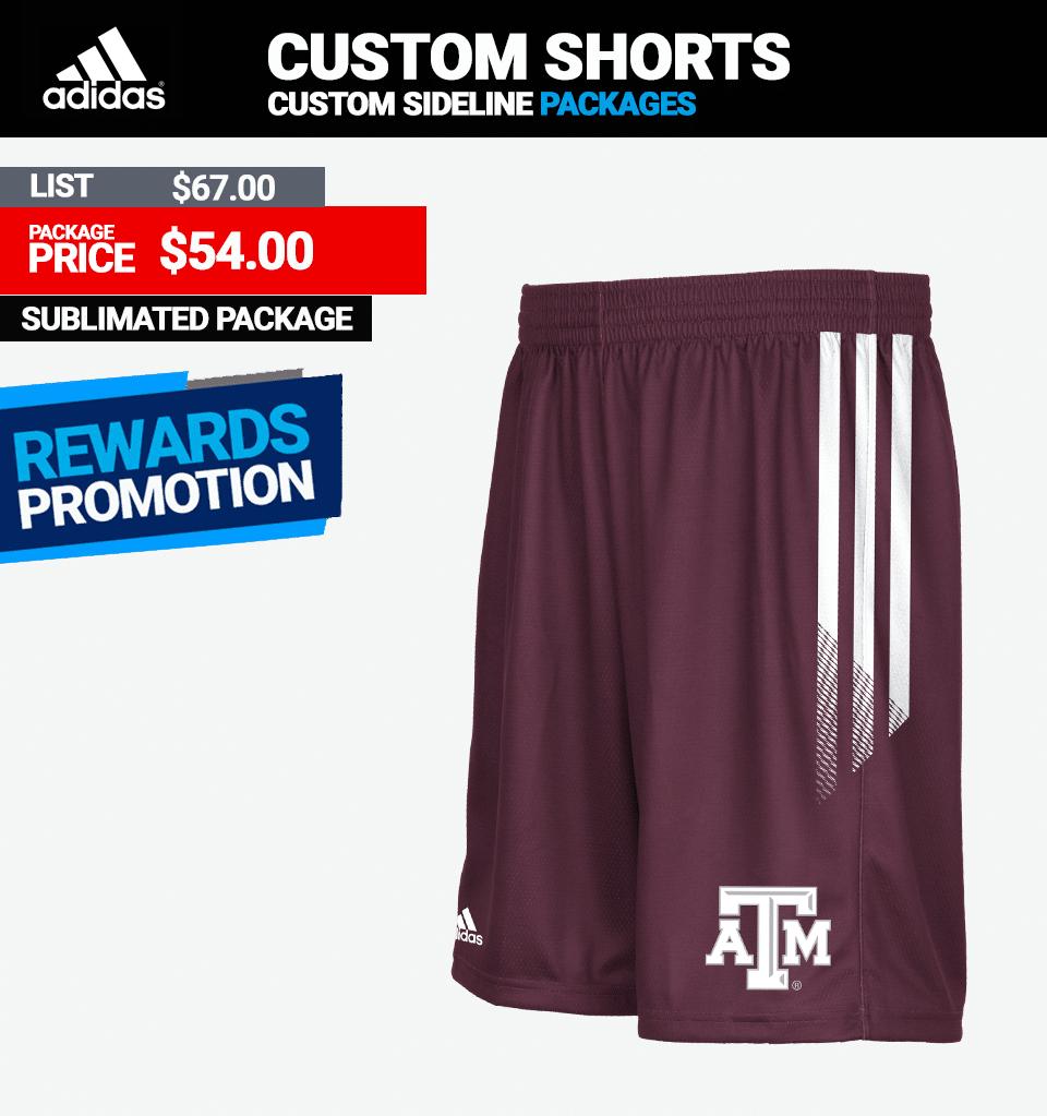 Adidas Custom Shorts - Link