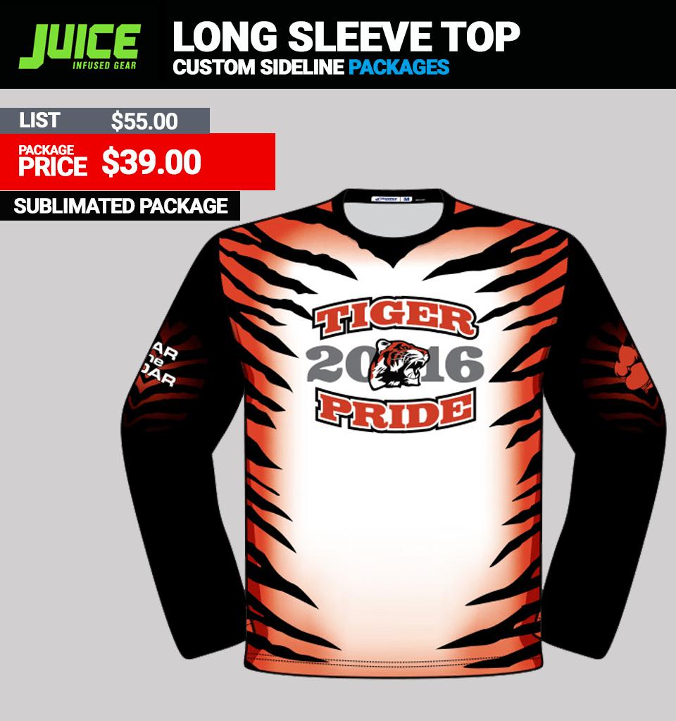 Juice Custom Long Sleeve Top
