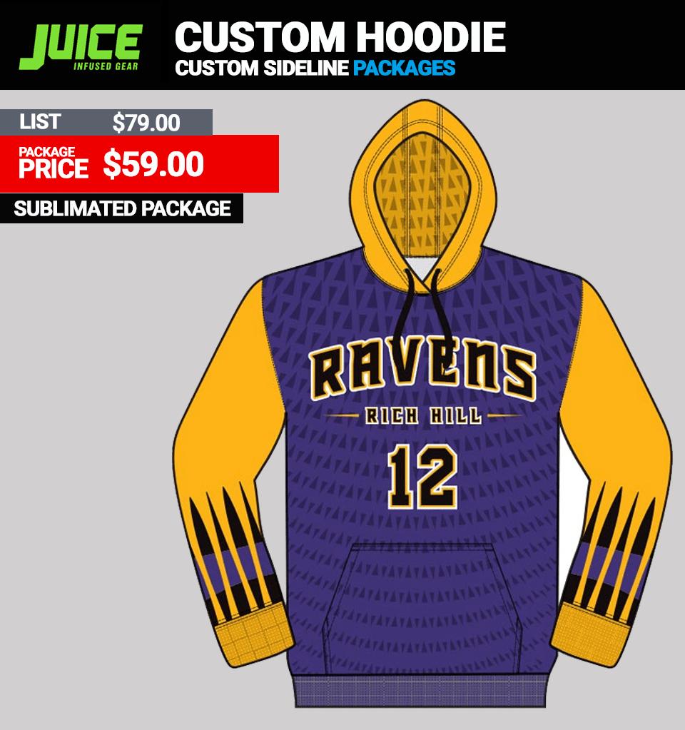 Juice Custom Team Hoodie