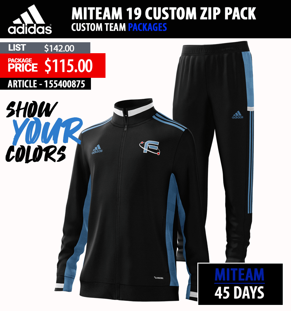 Adidas Miteam Custom Warmup Packages