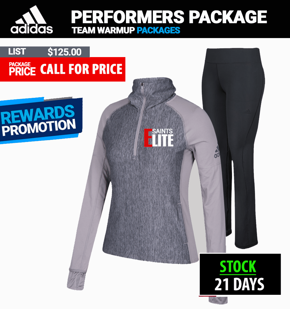 Adidas Womens Performer Warmup Package