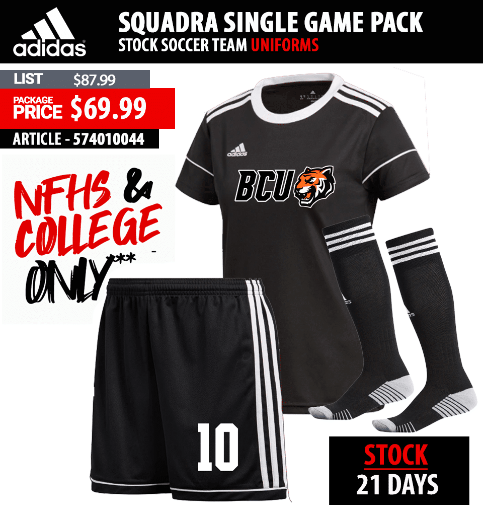 Juice Sublimated Soccer Uniform Package