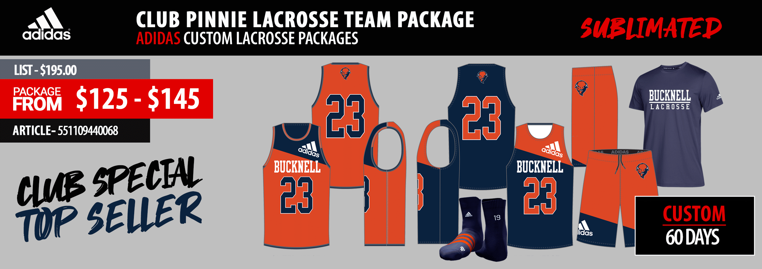 New Balance Sublimated Reversible Game Uniform Package