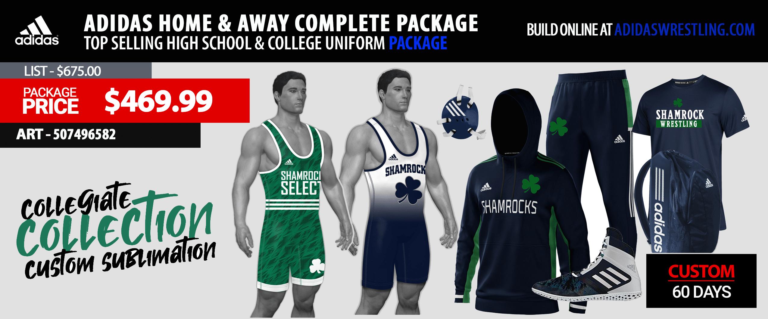 Adidas Custom Bulldogs Mens Pro Basketball Jersey Package